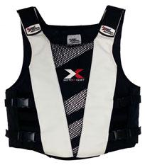 Long Armoured Vest Jacket Small / Med Ce Body Armour Mx Motox ...